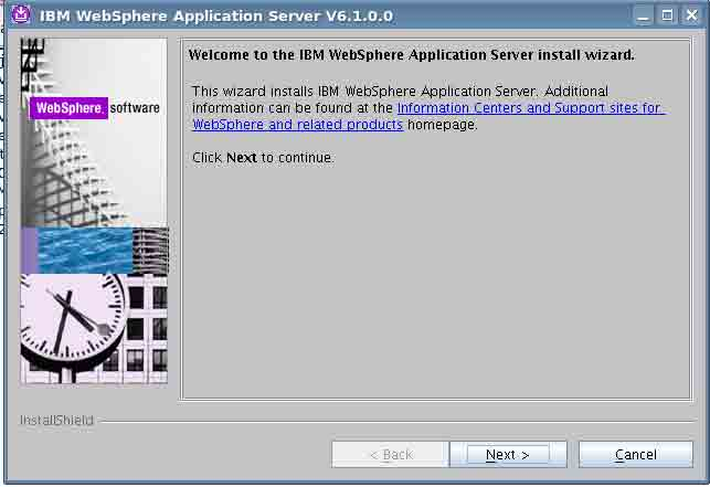 IBM WebSphere Application Server LaunchPad  - by Adilson Dias